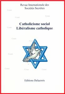 Catholicisme social - Libéralisme catholique - RG 156