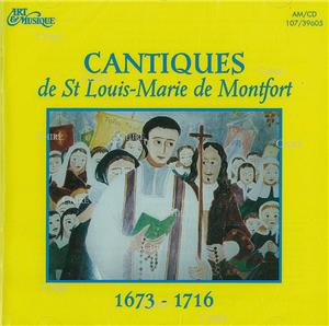Cantiques de Saint Louis-Marie de Montfort - CD
