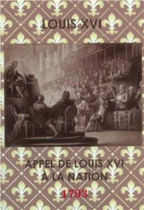 Appel de Louis XVI à la nation - 3 janvier 1793