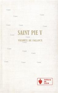 Saint Pie V (Relié)
