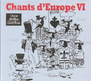 Chants d´Europe VI - CD 0019