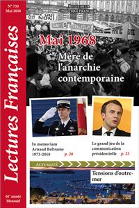 N° 733 - Mai 2018 : Mai 1968, mère de l´anarchie contemporaine