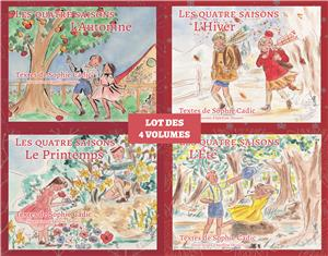 Collection Les quatre saisons - Lot des 4 volumes